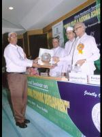 Mr. K.S.Varma receiving the IEDRA Award